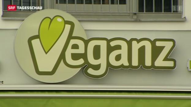 Video «Vegan-Supermarkt kommt in die Schweiz» abspielen