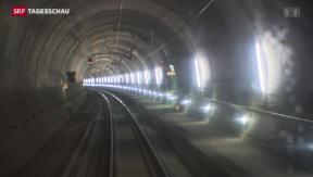 Video «Eröffnung des Neat-Tunnels in zwei Jahren» abspielen