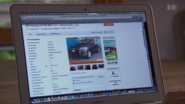 Video «Frechster Autodieb der Schweiz: So legt er Privatverkäufer herein» abspielen