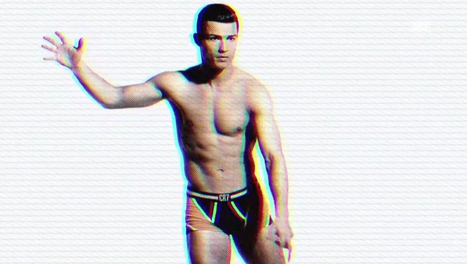Cristiano Ronaldos neueste Unterhosen-Kampagne (unkommentiert)