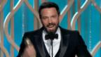 Video «Ben Affleck und sein Überraschungstriumph» abspielen