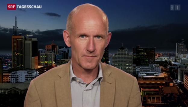 Video «SRF-Korrespondent Patrik Wülser über die Reaktionen in Afrika» abspielen