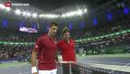 Video «Federer im Final von Schanghai» abspielen