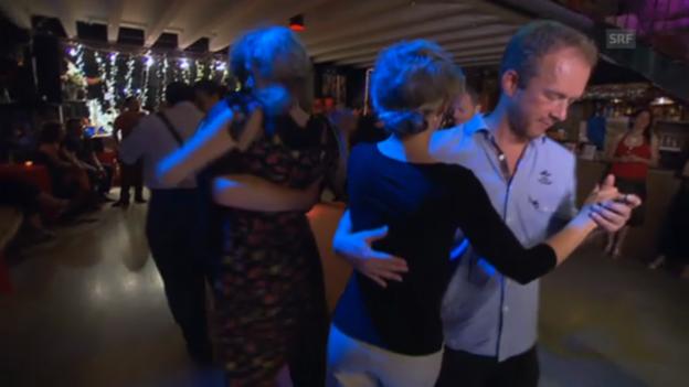 Video «In Zürich-West wird auch Tango getanzt» abspielen