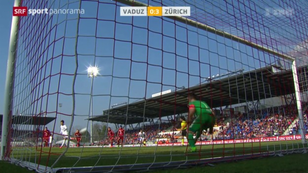 Video «Fussball: Super League, Vaduz - Zürich» abspielen