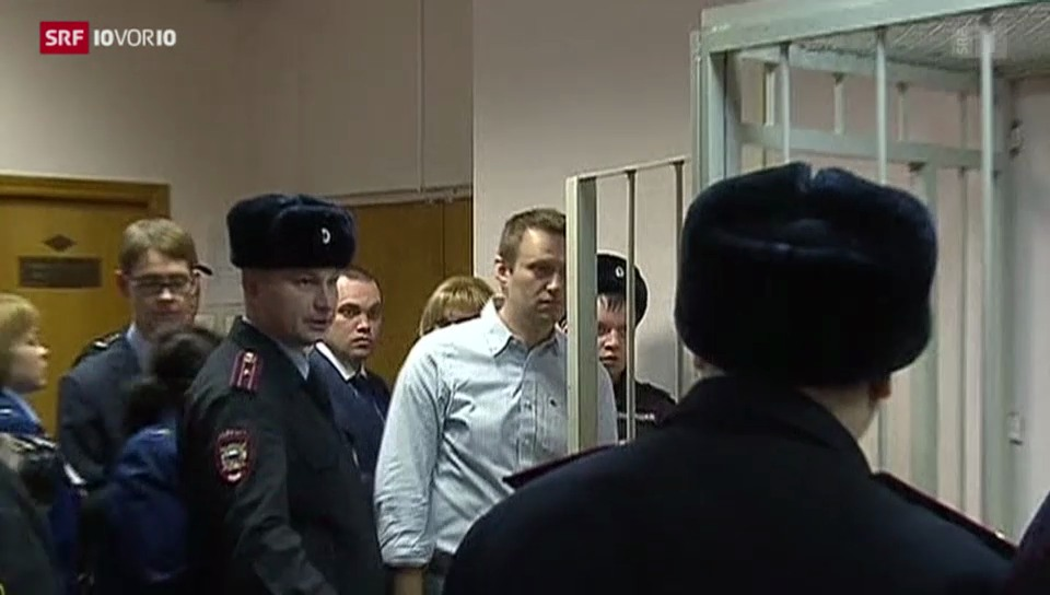 Harte Strafen gegen Putin-Gegner