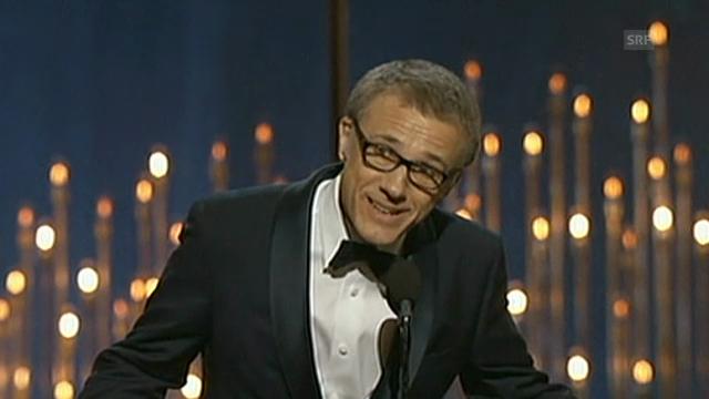 Oscar-Rede von Christoph Waltz (beste Nebenrolle)