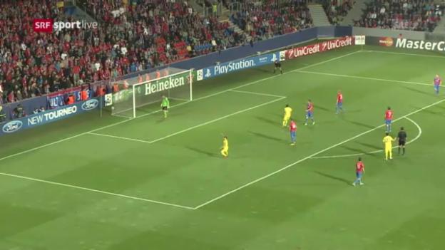 Video «Viktoria Pilsen - Maribor: Die Tore» abspielen