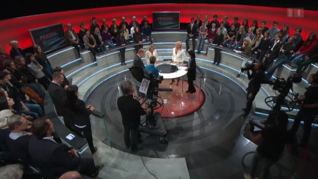 Video «Frauenquote: «Cherchez la femme»» abspielen