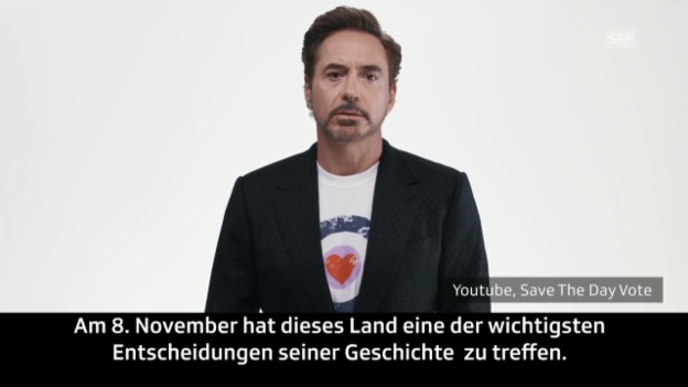 Video «Hollywood-Stars gegen Trump» abspielen