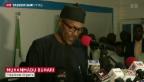 Video «Neuer Präsident in Nigeria» abspielen