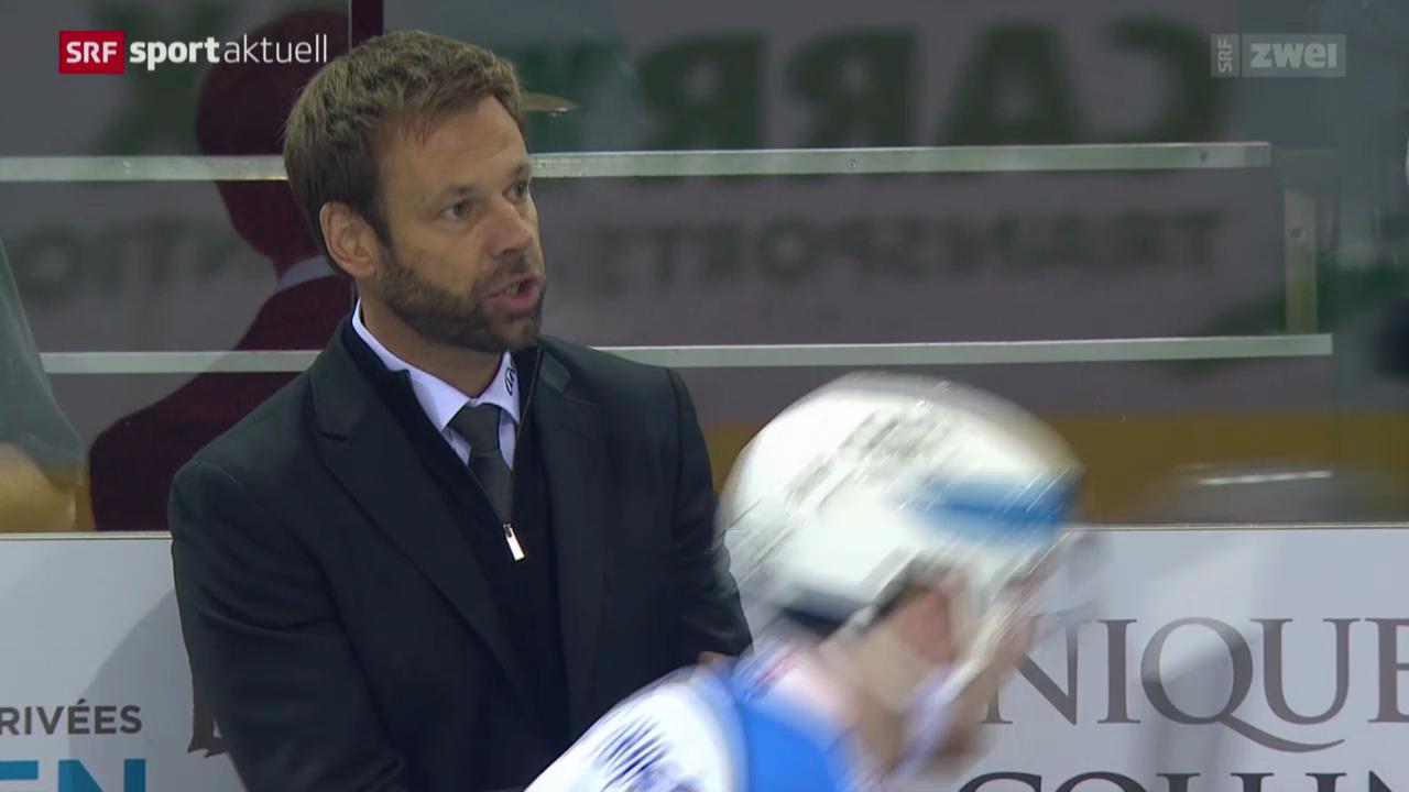 Eishockey: Genf - Freiburg