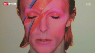Video «Grosse Ausstellung über David Bowie» abspielen