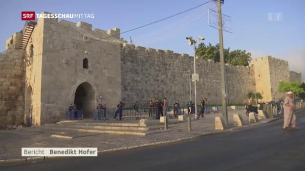 Video «Weitere Beschränkungen am Tempelberg» abspielen