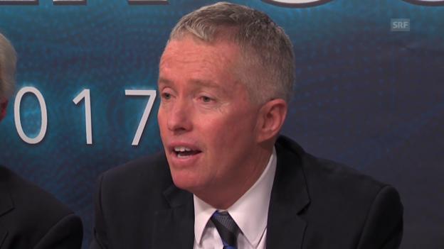 Video «Craig Tiley: «Ein wahrhaft aufregender Tag fürs Welttennis» (engl.)» abspielen