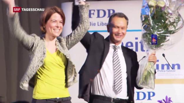 Video «Petra Gössi zur neuen FDP-Präsidentin gewählt» abspielen