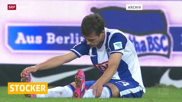 Video «Fussball: Internationale Ligen, Hertha Berlin zwei Wochen ohne Stocker (aus «sportaktuell»)» abspielen