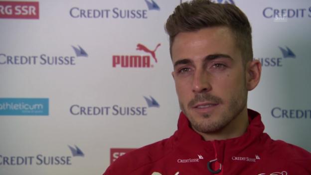 Video «Fussball: Nati-Neuling Marco Schönbächler im Interview» abspielen