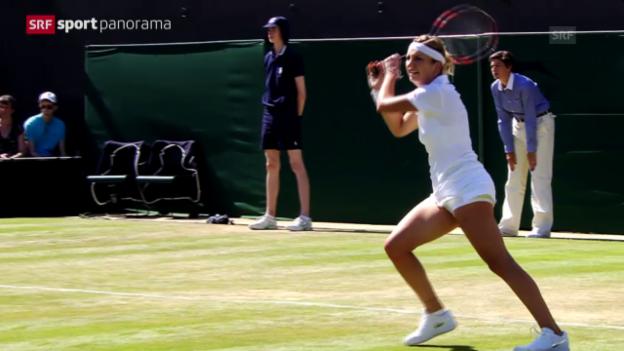 Video «Tennis: Wimbledon, Schweizer Festspiele» abspielen