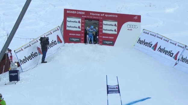 Video «Ski: Fahrt von Jessica Lindell-Vikarby» abspielen