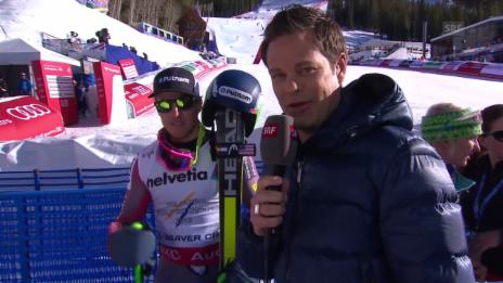 Video «Ski alpin: WM 2015 in Vail/Beaver Creek, Riesenslalom der Männer, Sieger Ted Ligety im Interview» abspielen