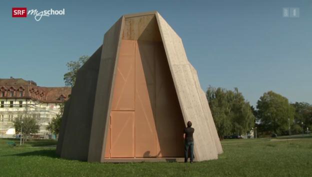 Video «Die Schweiz bauen: Eine Kapelle auf Zeit (2/13)» abspielen