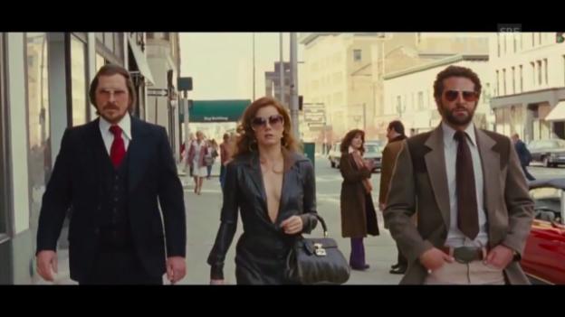 Video «Filmbesprechung: «American Hustle»» abspielen