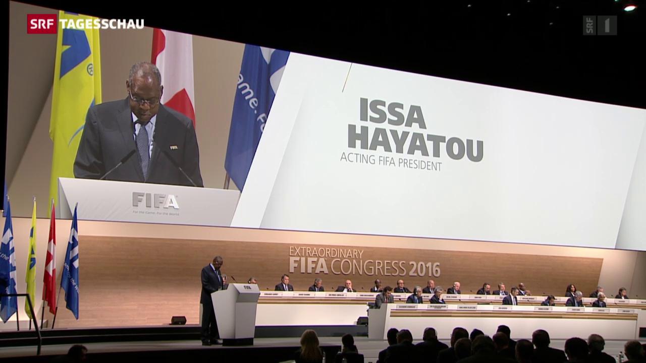 Umbau bei der Fifa