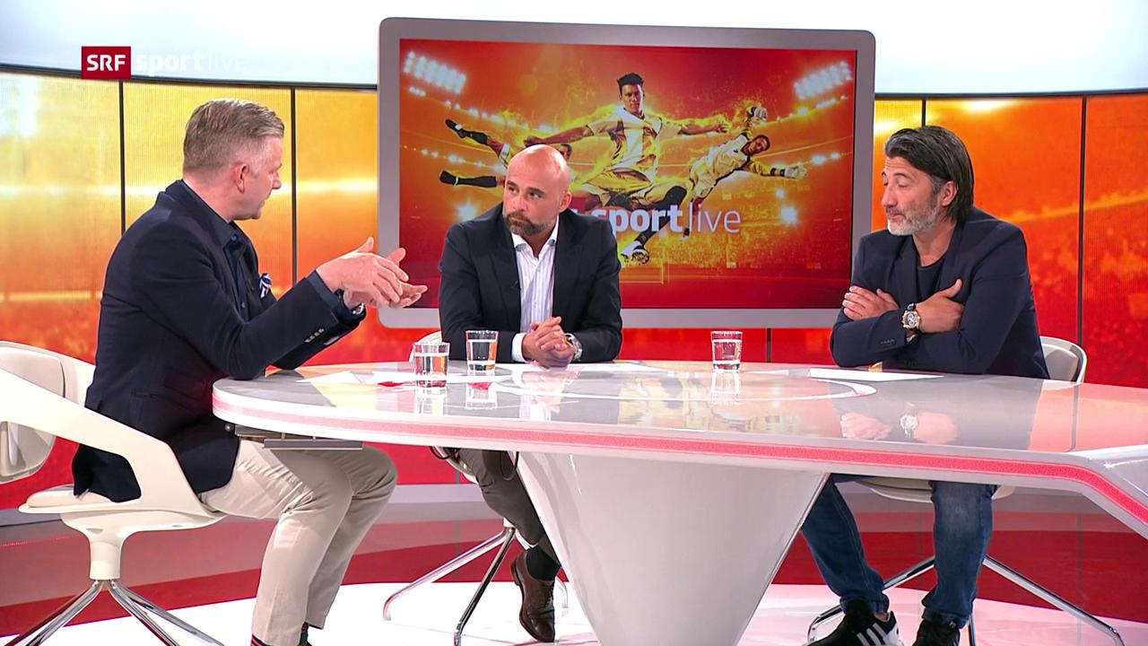 Die SRF-Experten diskutieren den Penalty-Entscheid