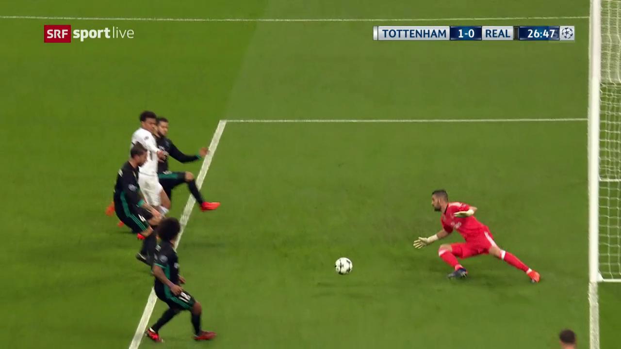 Tottenham - Real Madrid: Die Live-Highlights