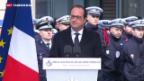 Video «Jahrestag von «Charlie Hebdo»» abspielen