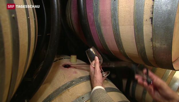 Video «Anzeigen gegen Wein-Panscher» abspielen