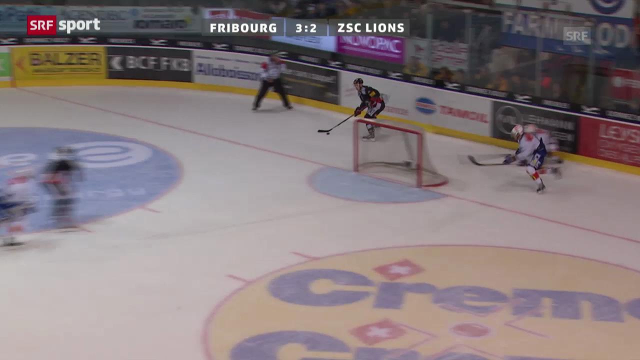 NLA: Fribourg-Gottéron - ZSC Lions