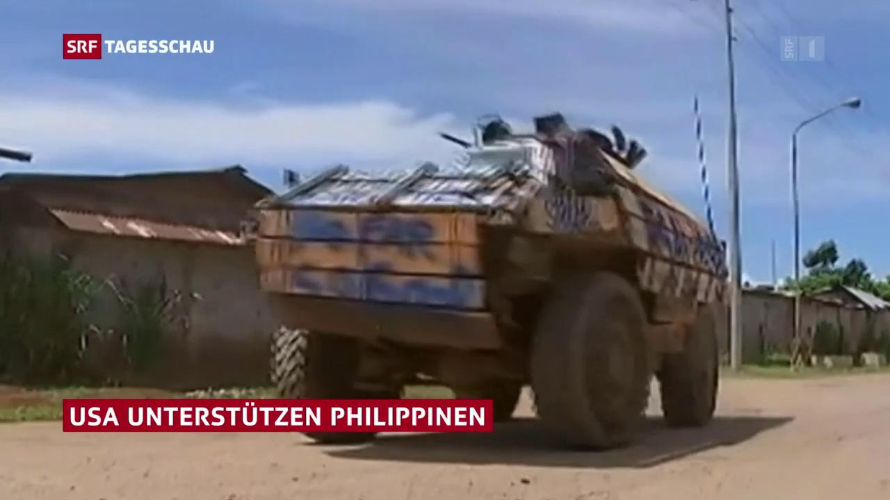 USA unterstützen Philippinen