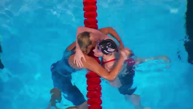 Video «Schwimm-WM in Barcelona: 200 m Freistil der Frauen (unkommentiert)» abspielen