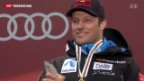 Video «Aksel Svindal gewinnt WM- Abfahrt in Schladming» abspielen