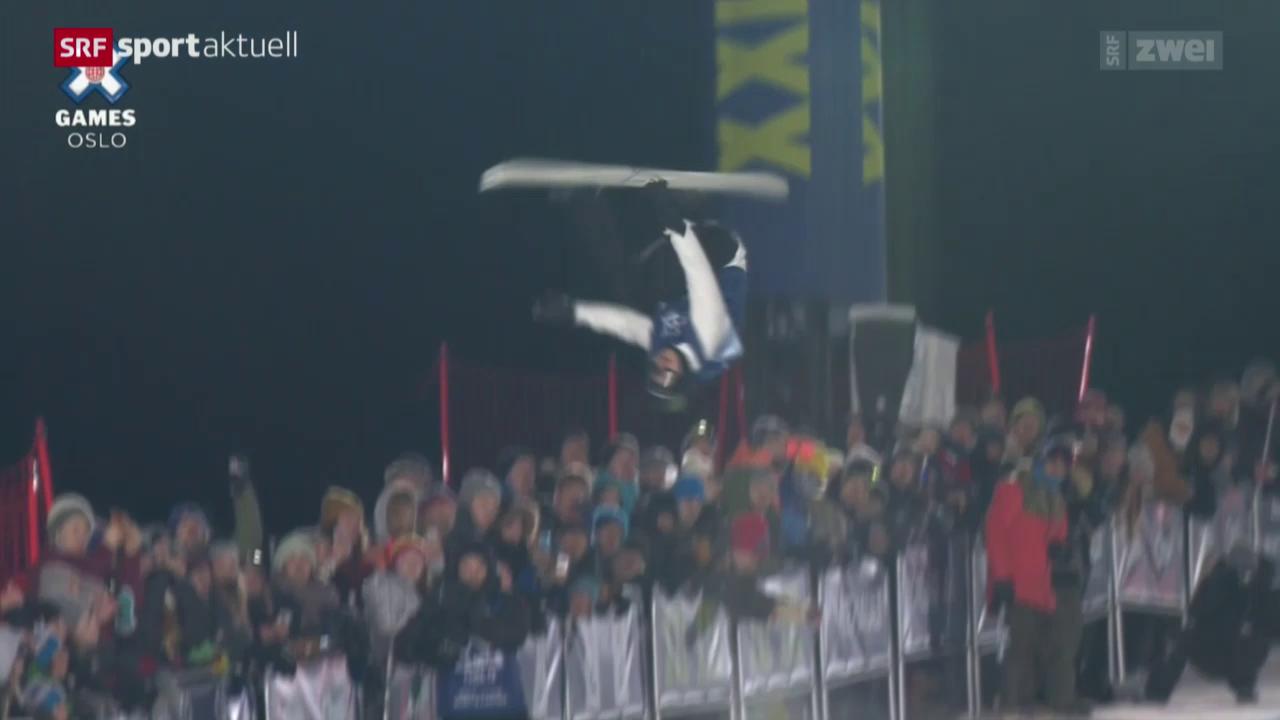 Iouri Podladtchikov springt in Oslo aufs Podest