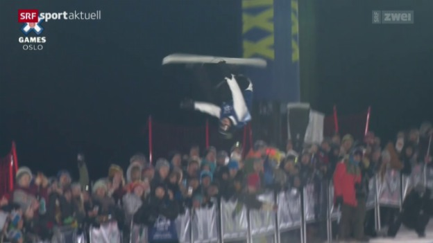 Video «Iouri Podladtchikov springt in Oslo aufs Podest» abspielen