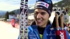 Video «Langlauf, Weltcup Davos, Sprint, Inti Roman Schaad» abspielen