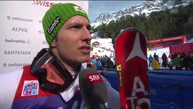 Video «Ski alpin: Interview Hirscher («sportlive»)» abspielen