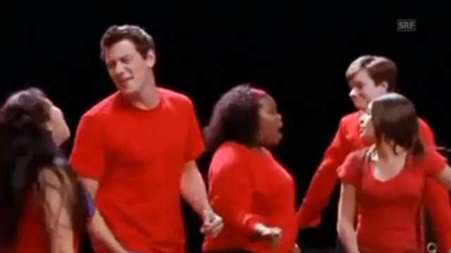 Videoclip: «Glee – Don't Stop Believing»
