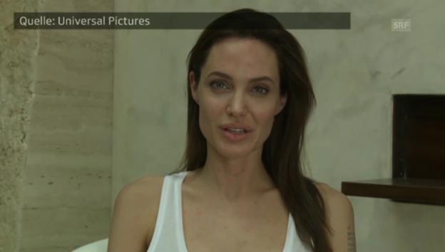 Video «Angelina Jolies Mitteilung via Youtube» abspielen