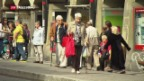 Video «Erhöhung des Rentenalters stark umstritten» abspielen