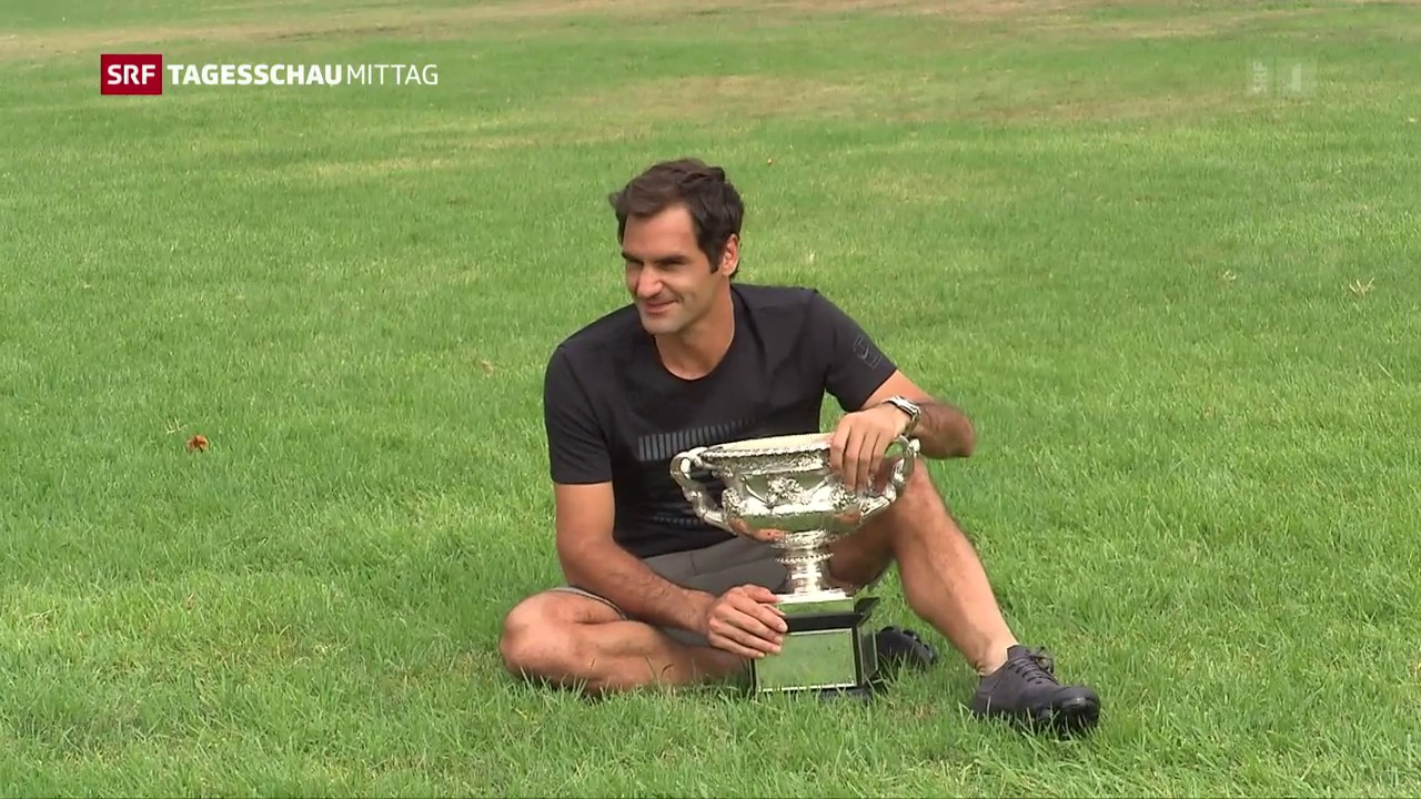 Roger Federer präsentiert «Norman»