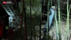 Video «Mehr Unfälle nach Wintereinbruch» abspielen