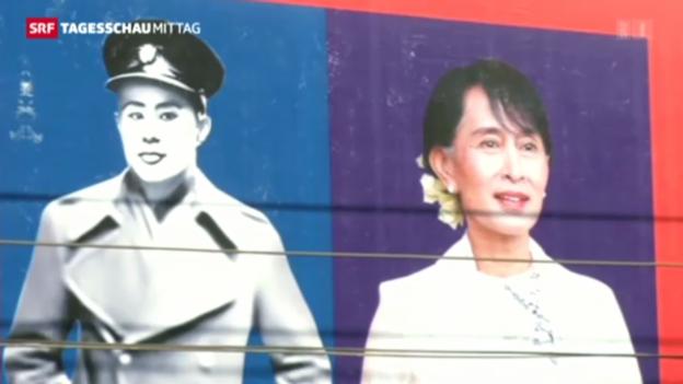 Video «Burmas Opposition hält ersten Kongress» abspielen
