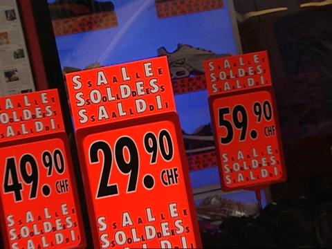 Video «Ausverkaufs-Bschiss: Warenhäuser ziehen Kunden über den Ladentisch» abspielen