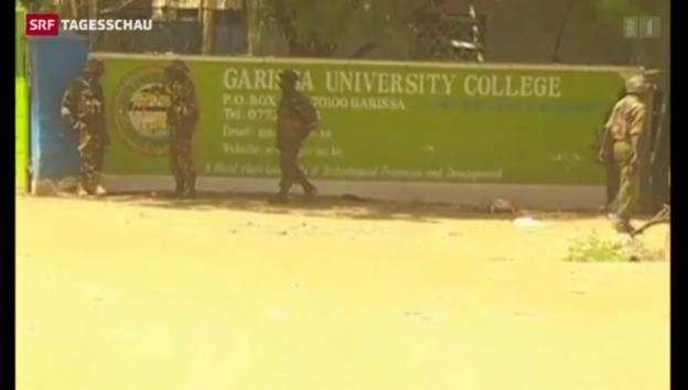 Video «Islamisten halten Geiseln an kenianischer Uni» abspielen