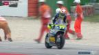 Video «Motorrad: GP von San Marino, Moto2» abspielen