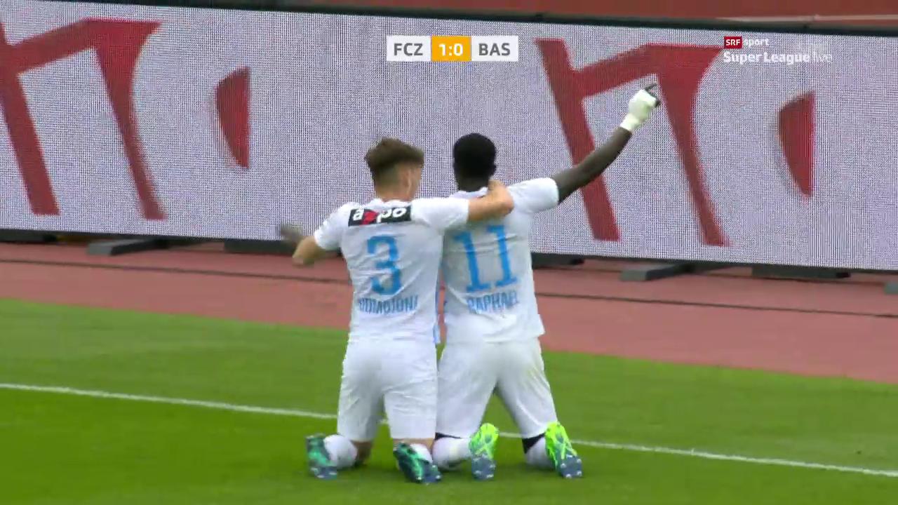 Zürich verpasst dem FCB eine Ohrfeige